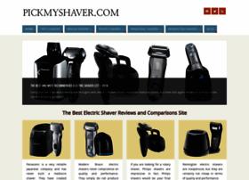 pickmyshaver.com