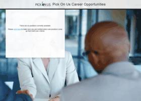 pickonus.jobinfo.com