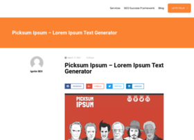 Picksumipsum.co.uk