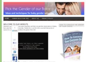 pickthegenderofourbaby.com