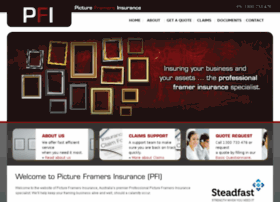 pictureframersinsurance.com.au