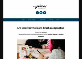 piecescalligraphy.com