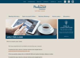 piedmontfederal.mortgagewebcenter.com