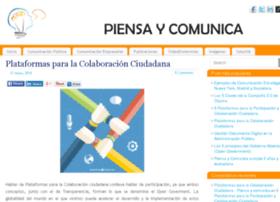 piensaycomunica.com