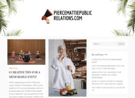 piercemattiepublicrelations.com