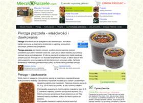 pierzga.mleczkopszczele.com