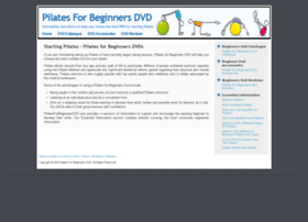 pilatesforbeginnersdvd.com