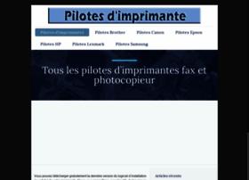 pilote-imprimante.com