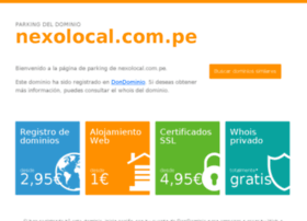 pimentel.nexolocal.com.pe