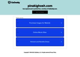 pinakighosh.com