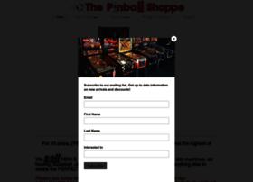 pinballshoppe.com
