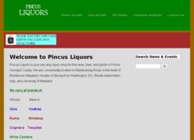 pincusliquors.com