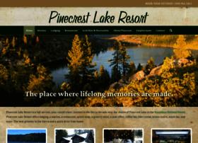 pinecrestlakeresort.com