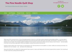 pineneedlequiltshop.com