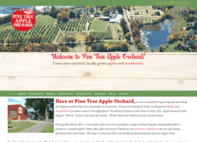 pinetreeappleorchard.com