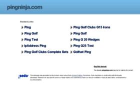 pingninja.com