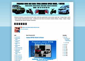 pinjamandanajaminanbpkbmobilmotor.blogspot.com