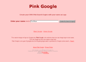 pinkgoogle.org