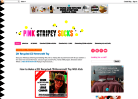 pinkstripeysocks.com