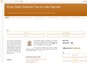 pinoy-daily-suertres-tips.blogspot.com