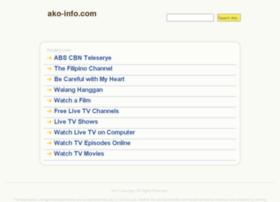 Pinoy.ako-info.com