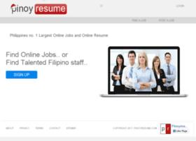 pinoyresume.com