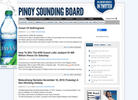 pinoysoundingboard.com
