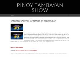 pinoytambayantvshow.wordpress.com