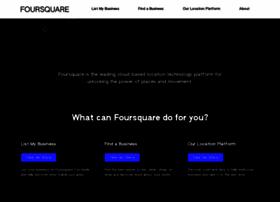pinpoint.foursquare.com