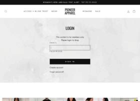 pioneerapparel.com