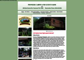 pioneercabins.com