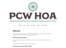 pioneercrossingwest.org