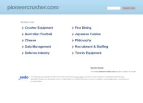 pioneercrusher.com