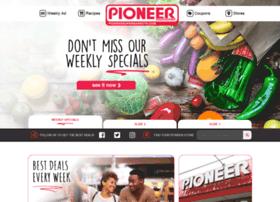 pioneersupermarkets.com