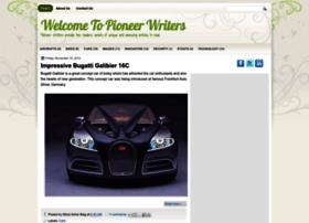pioneerwriters.blogspot.com