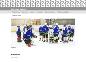 pirkkalanjaahalli.fi