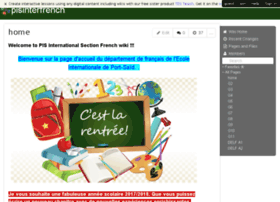 pisinterfrench.wikispaces.com
