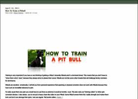 pitbulltraining101.com