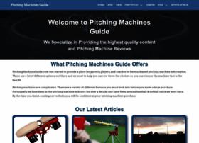 pitchingmachinesnow.com