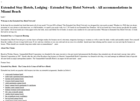 pittsburgh.extendedstayhotelnetwork.com
