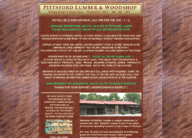 pittsfordlumber.com
