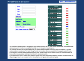 pivotpointcalculator.com