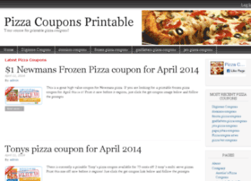 pizzacouponsprintable.com