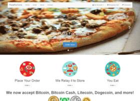 pizzaforcoins.com