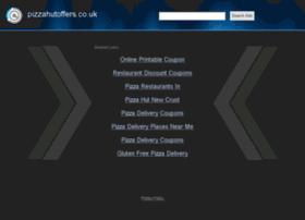 pizzahutoffers.co.uk