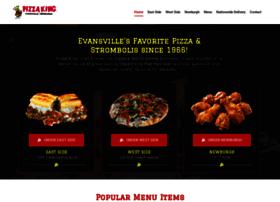 pizzakingevansville.com