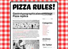 pizzarules.com