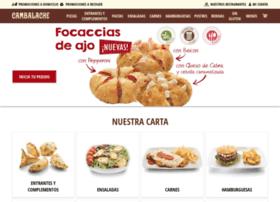 pizzeriascambalache.es