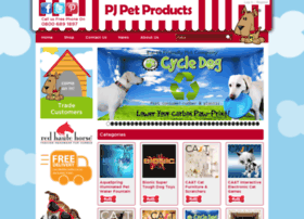 pjpetproducts.co.uk