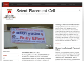 placement.scient.ac.in